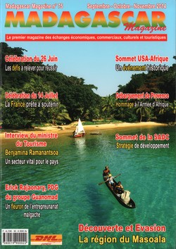 Madagascar Magazine: No. 75: Septembre-Octobre-Novembre 2014