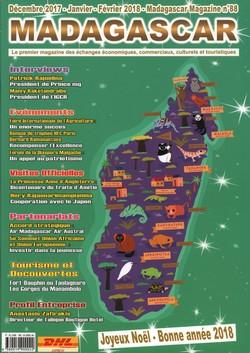 Madagascar Magazine: No. 88: Décembre 2017-Janvier-Février 2018