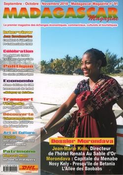Madagascar Magazine: No. 91: Septembre-Octobre-Novembre 2018