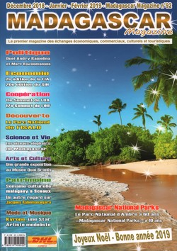 Madagascar Magazine: No. 92: Décembre 2018-Janvier-Février 2019