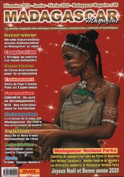 Madagascar Magazine: No. 96: Décembre 2019-Janvier-Février 2020