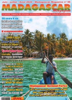 Madagascar Magazine: No. 98: Juin-Juillet-Août 2020