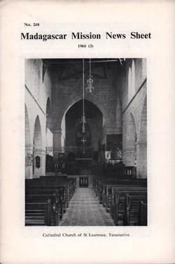 Madagascar Mission News Sheet: No. 208: 1960 (3)