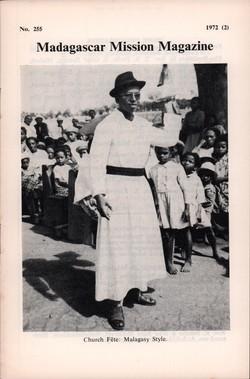 Madagascar Mission Magazine: No. 255: 1972 (2)