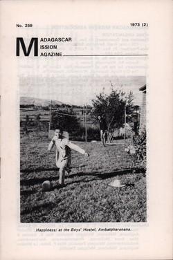 Madagascar Mission Magazine: No. 259: 1973 (2)