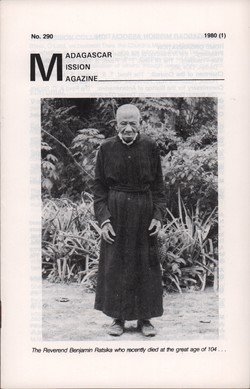 Madagascar Mission Magazine: No. 290: 1980 (1)