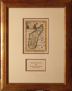 Isle de Madagascar: Dite de St Laurens ou l'Isle Daufine