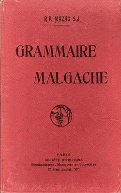 Grammaire Malgache