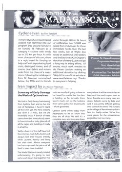 Monthly from Madagascar: Madagascar Fauna Group: March 2008: Volume 5, Issue 1