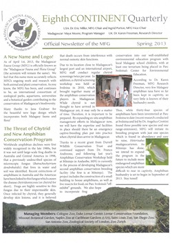 Eighth Continent Quarterly: Spring 2013