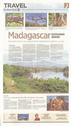 Travel: Supplement J of the Miami Herald, Sunday 24 September 2006