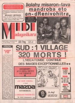 Midi Madagasikara: No. 2674 (jeudi 04 juin 1992)