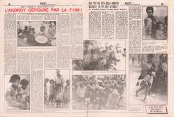 L'Androy défiguré par la faim!: Midi Madagasikara, no. 2665, vendredi 22 mai 1992