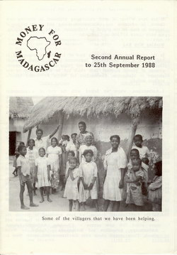 Second Annual Report to 25th September 1988: Money for Madagascar