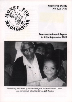 Fourteenth Annual Report to 25th September 2000: Money for Madagascar