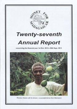 Twenty-seventh Annual Report: Money for Madagascar