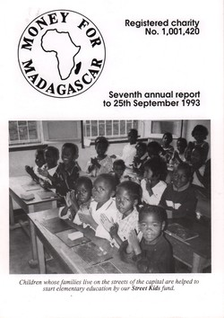 Seventh Annual Report to 25th September 1993: Money for Madagascar