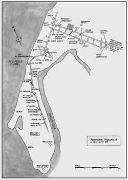 Morondava, Madagascar: Town Plan