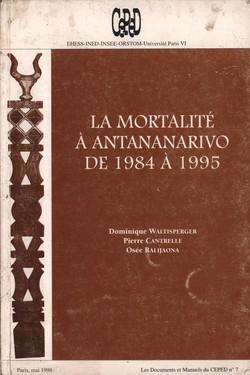 La Mortalité à Antananarivo de 1984 à 1995