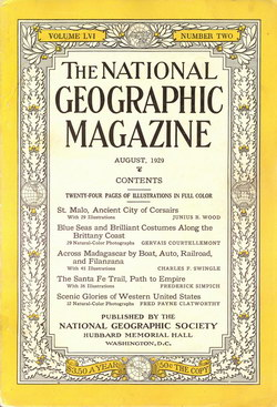 National Geographic Magazine: Vol. 56, No. 2, August 1929