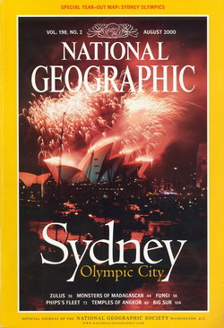 National Geographic Magazine: Vol. 198, No. 2, August 2000