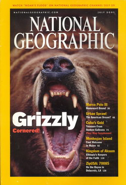 National Geographic Magazine: Vol. 200, No. 1, July 2001
