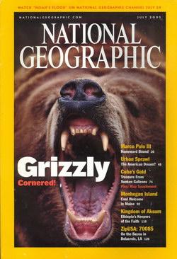 National Geographic Magazine: Vol. 200, No. 1, July 2001