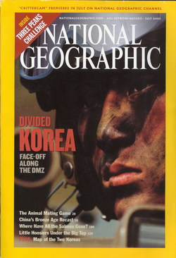 National Geographic Magazine: Vol. 204, No. 1, July 2003