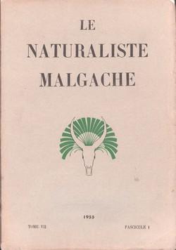 Le Naturaliste Malgache: Tome VII, Fascicule 1