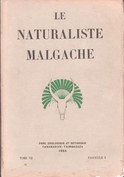 Le Naturaliste Malgache: Tome VII, Fascicule 2