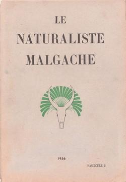 Le Naturaliste Malgache: Tome VIII, Fascicule 2