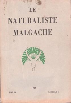 Le Naturaliste Malgache: Tome IX, Fascicule 1