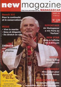 New Magazine Madagascar: No. 129 (mai 2005)