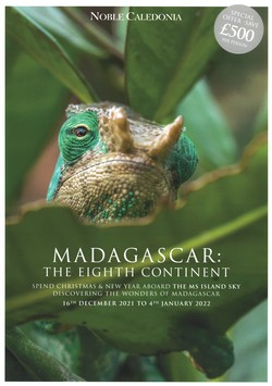 Madagascar: the Eighth Continent: Spend Christmas & New Year aboard the Ms Island Sky discovering the wonders of Madagascar: 16th December 2021 to 4th January 2022