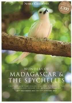 Wonders of Madagascar & the Seychelles: Celebrate New Year discovering the wonders of the Indian Ocean aboard the MS Caledonian Sky: 28th December 2021 to 15th January 2022