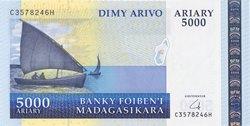 Dimy Arivo Ariary (25000 Francs): Banky Foiben'i Madagasikara