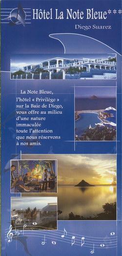 Hôtel La Note Bleue: Diego Suarez