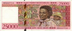 25000 Francs (Dimy Arivo Ariary): Banky Foiben'i Madagasikara