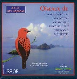 Oiseaux de Madagascar, Mayotte, Comores, Seychelles, Réunion, Maurice: 327 Espèces