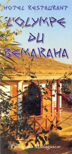 Hotel Restaurant L'Olympe du Bemaraha: Bekopaka Madagascar