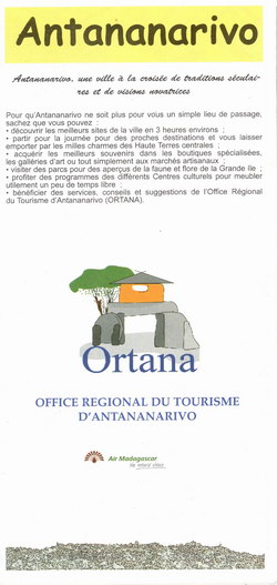 Plan de Ville d'Antananarivo: Antananarivo City Plan
