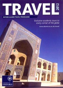 Oxford Alumni Travel Programme: Travel 2012