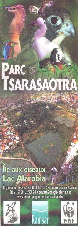 Parc de Tsarasaotra: Ile aux oiseaux Lac Alarobia