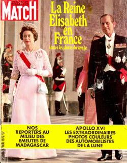 Paris Match: No. 1203, Samedi 27 Mai 1972
