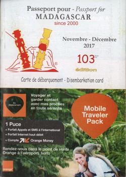 Passeport pour Madagascar: No. 103 Novembre-Décembre 2017
