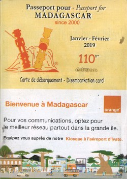 Passeport pour Madagascar / Passport for Madagascar: No 110: Janvier/Février 2019