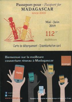 Passeport pour Madagascar / Passport for Madagascar: No 112: Mai/Juin 2019