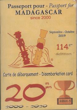 Passeport pour Madagascar / Passport for Madagascar: No 112: Séptembre/Octobre 2019