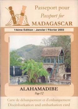 Passeport pour Madagascar: 14?me ?dition Janvier/Février 2003