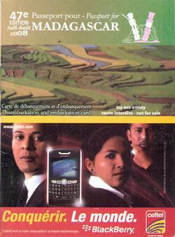 Passeport pour Madagascar: No. 47 Juillet/Août 2008